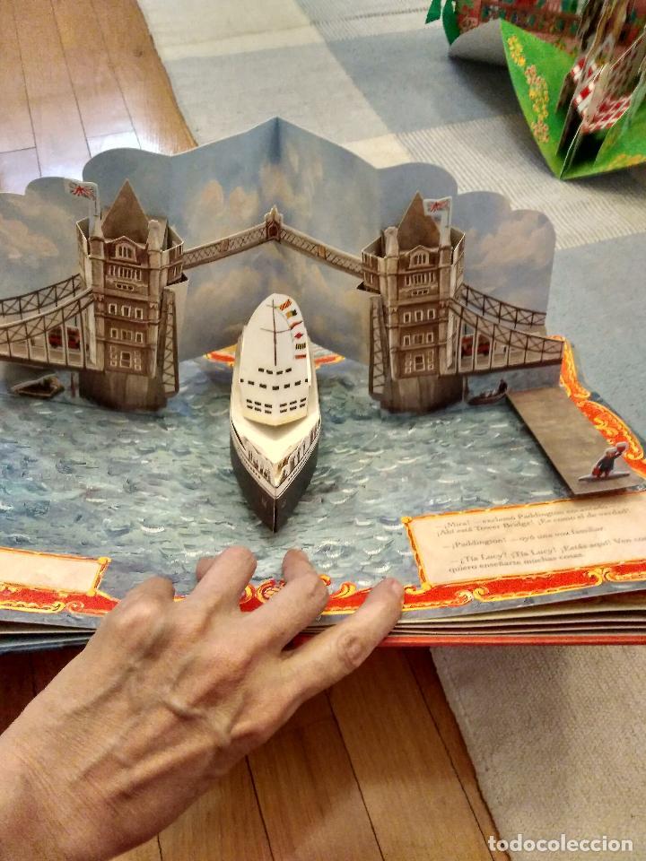 Libros antiguos: CUENTO POP-UP TRES DIMENSIONES PADDINGTON LONDRES,EDICION COLECCIONISTA - Foto 7 - 129474651