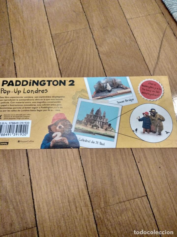 Libros antiguos: CUENTO POP-UP TRES DIMENSIONES PADDINGTON LONDRES,EDICION COLECCIONISTA - Foto 13 - 129474651