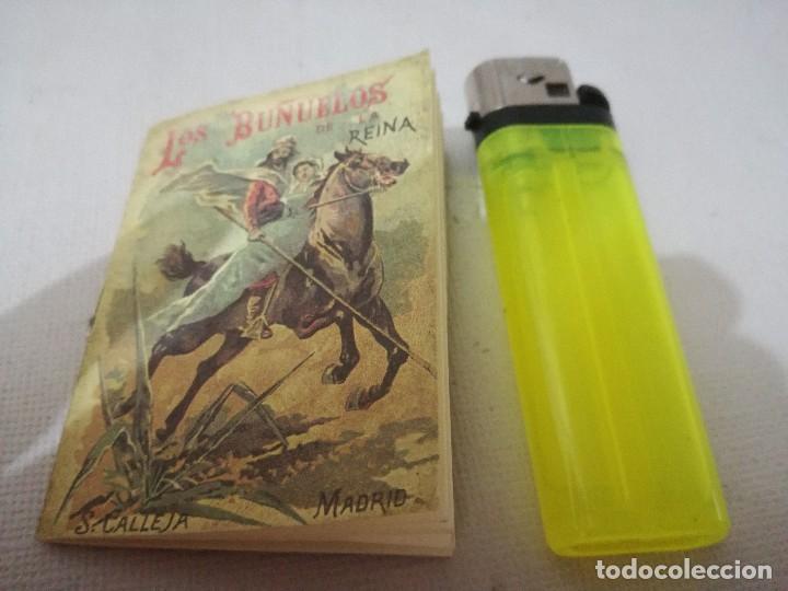 Libros antiguos: mini libro-los buñuelos de la reina-tomo 177 recreo infantil-saturnino calleja-1901-buen estado foto - Foto 2 - 129636347