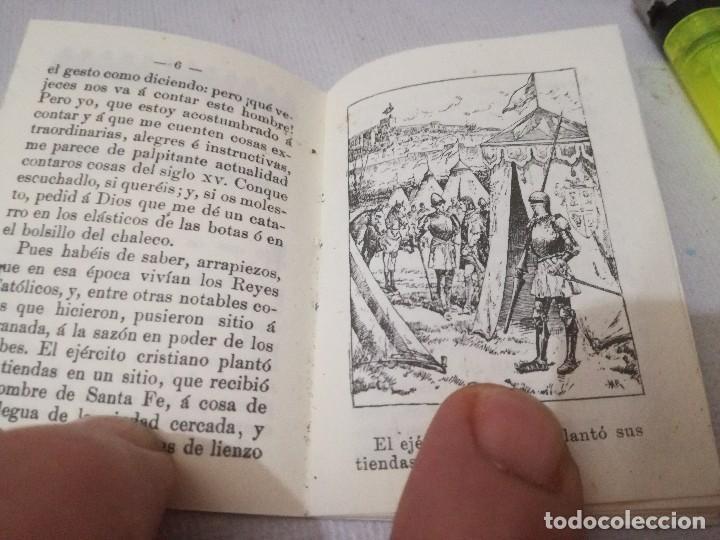Libros antiguos: mini libro-los buñuelos de la reina-tomo 177 recreo infantil-saturnino calleja-1901-buen estado foto - Foto 6 - 129636347