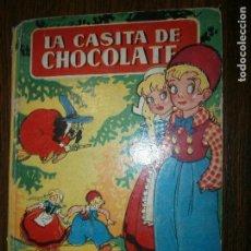 Libros antiguos: LA CASITA DE CHOCOLATE ILUSTRADO A COLOR. Lote 129698079