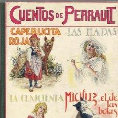 Libros antiguos: CUENTOS DE PERRAULT - BIBLIOTECA PARA NIÑOS - RAMON SOPENA AÑOS 30. Lote 130468434