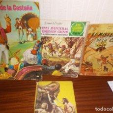 Libros antiguos: LOTE DE ANTIGUOS CUENTOS SURTIDO. Lote 130622726