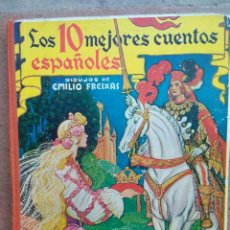 Libros antiguos: LOS DIEZ MEJORES CUENTOS ESPAÑOLES. AÑO 1959.. Lote 130730934
