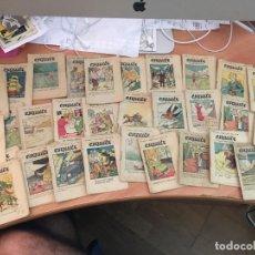 Libros antiguos: ESQUITX PATUFET LOTE 31 CUENTOS (CRIP1). Lote 130939260