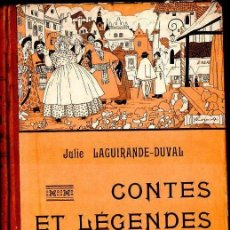 Libros antiguos: J. LAGUIRANDE DUVAL : CONTES ET LEGENDES DE POLOGNE (NATHAN, PARIS, 1933). Lote 131106592
