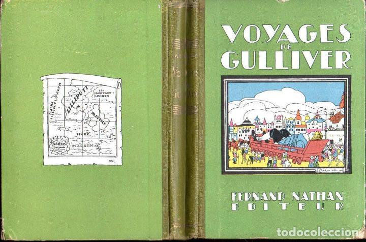 JONATHAN SWIFT . VOYAGES DE GULLIVER (NATHAN, PARIS, 1930) (Libros Antiguos, Raros y Curiosos - Literatura Infantil y Juvenil - Cuentos)