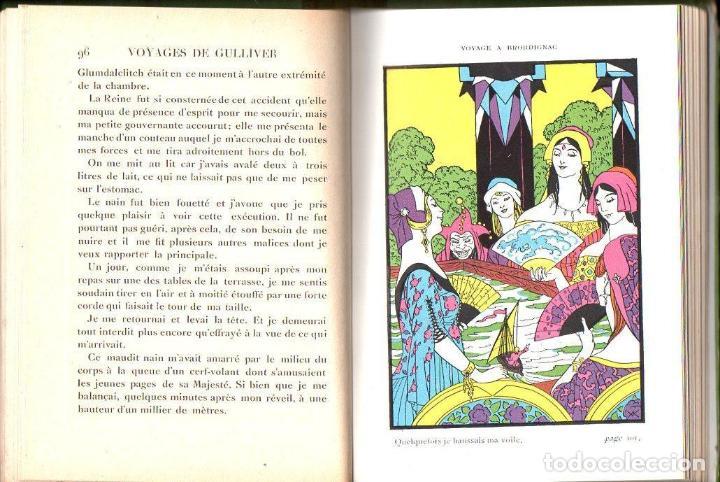 Libros antiguos: JONATHAN SWIFT . VOYAGES DE GULLIVER (NATHAN, PARIS, 1930) - Foto 2 - 131106840