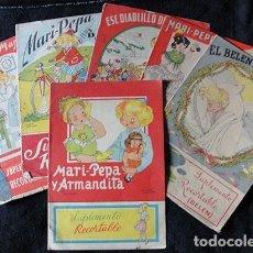 Libros antiguos: LOTE 5 CUENTOS MARI PEPA Y UNAS TAPAS - ORIGINALES -. Lote 131119036