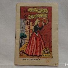 Libros antiguos: CUENTO LA PRINCESA DEL GUISANTE - TESORO DE CUENTOS - AÑO 1964 - BRUGUERA . Lote 131129812