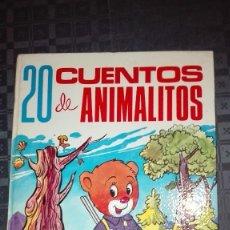 Libros antiguos: 20 CUENTOS DE ANIMALITOS / DE 1973.. Lote 131466022