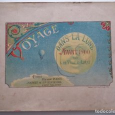 Libros antiguos: VOYAGE DANS LA LUNE AVANT 1900 DE A. DE VILLE D'AVRAY. Lote 131495470