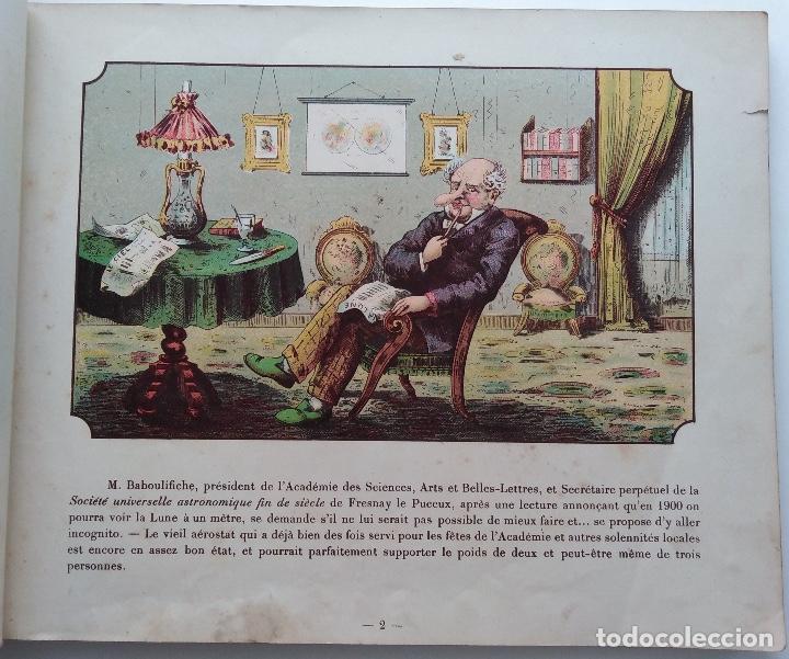 Libros antiguos: VOYAGE DANS LA LUNE AVANT 1900 DE A. DE VILLE DAVRAY - Foto 4 - 131495470