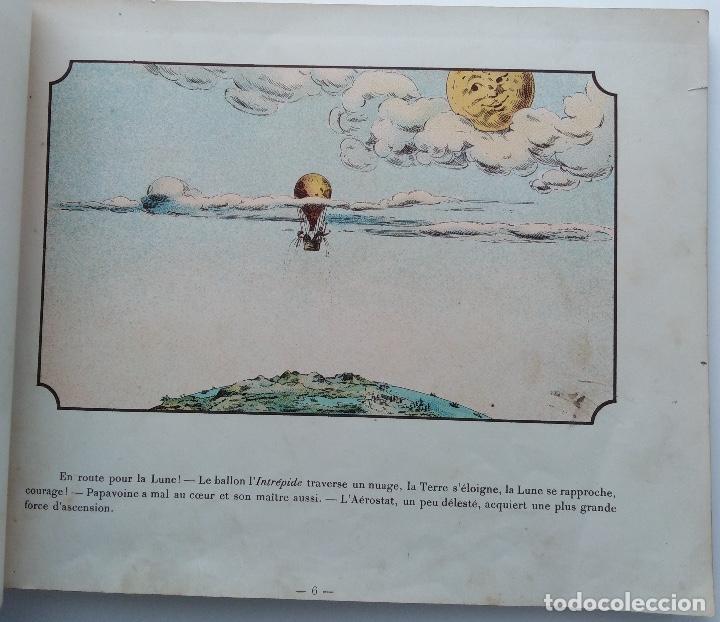 Libros antiguos: VOYAGE DANS LA LUNE AVANT 1900 DE A. DE VILLE DAVRAY - Foto 5 - 131495470