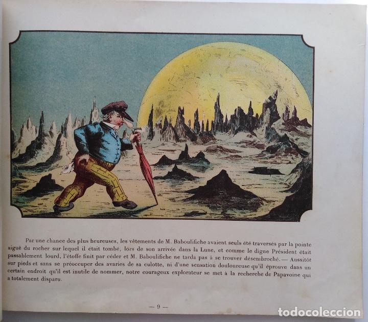 Libros antiguos: VOYAGE DANS LA LUNE AVANT 1900 DE A. DE VILLE DAVRAY - Foto 6 - 131495470