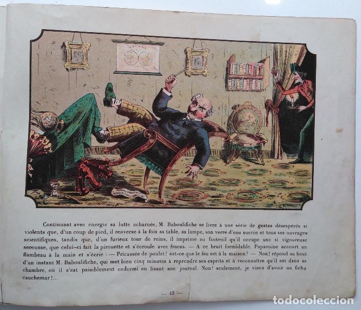 Libros antiguos: VOYAGE DANS LA LUNE AVANT 1900 DE A. DE VILLE DAVRAY - Foto 11 - 131495470