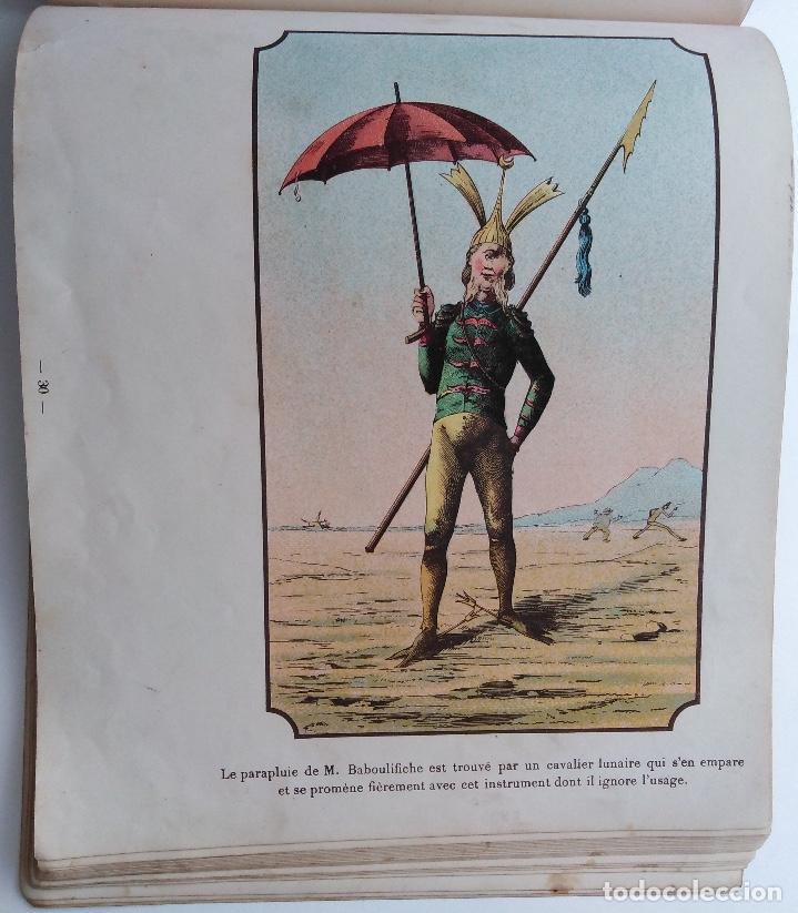 Libros antiguos: VOYAGE DANS LA LUNE AVANT 1900 DE A. DE VILLE DAVRAY - Foto 9 - 131495470