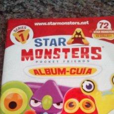Libros antiguos: ALBUM STAR MONSTERS SERIE 1. Lote 131733002