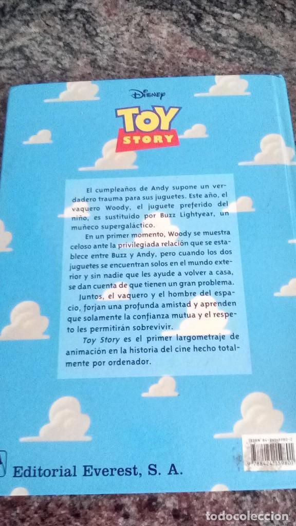 Libros antiguos: libro toy story disney pixar tapa dura everest - Foto 3 - 131734582