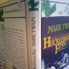 Libros antiguos: ANAYA TUS LIBROS SATÍRICOS, HUCKLEBERRY FINN, 6°EDICIÓN 1990. Lote 131746286
