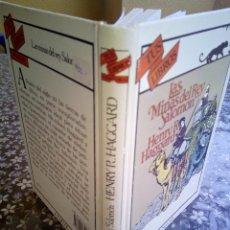 Libros antiguos: ANAYA TUS LIBROS DE AVENTURAS,LAS MINAS DEL REY SALOMNÓN, 7°EDICIÓN 1991. Lote 131746542
