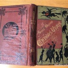 Libros antiguos: CUENTOS VIVOS / APELES MESTRES - 1882. Lote 117554471