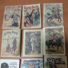 Libros antiguos: LOTE DE 9 PEQUEÑOS CUENTOS DEL SEÑOR CALLEJAS, REEDICION. Lote 132438870