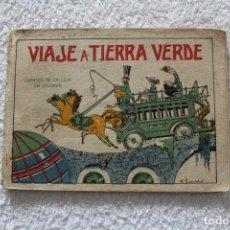 Libros antiguos: CUENTOS DE CALLEJA EN COLORES 5ª SERIE: VIAJE A TIERRA VERDE - SATURNINO CALLEJA 1919. Lote 132499650