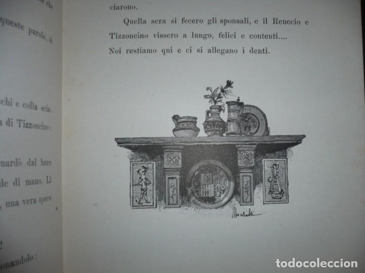 Libros antiguos: CERA UNA VOLTA FIABE LUIGI CAPUANA 1885 MILANO 12 CUENTOS 36 ILUSTRACIONES - Foto 7 - 132527402