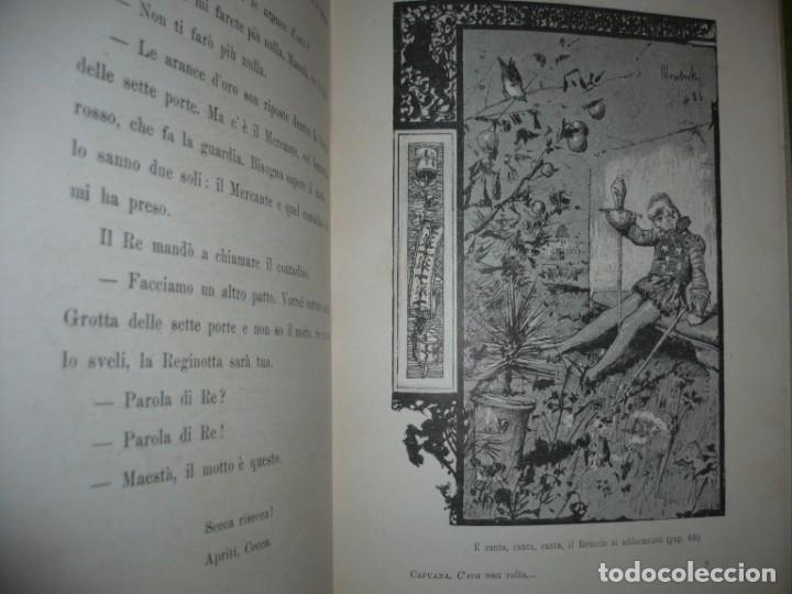 Libros antiguos: CERA UNA VOLTA FIABE LUIGI CAPUANA 1885 MILANO 12 CUENTOS 36 ILUSTRACIONES - Foto 8 - 132527402