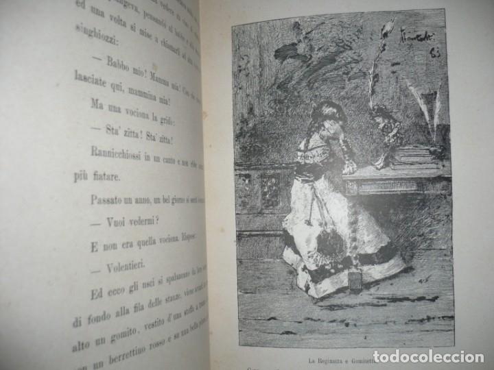 Libros antiguos: CERA UNA VOLTA FIABE LUIGI CAPUANA 1885 MILANO 12 CUENTOS 36 ILUSTRACIONES - Foto 9 - 132527402
