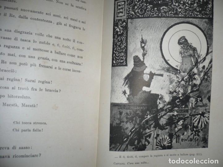 Libros antiguos: CERA UNA VOLTA FIABE LUIGI CAPUANA 1885 MILANO 12 CUENTOS 36 ILUSTRACIONES - Foto 10 - 132527402