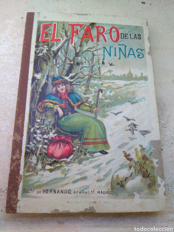 LIBRO EL FARO DE LAS NIÑAS - D. BALDOMERO MEDIANO Y RUÍZ 1911 (Libros Antiguos, Raros y Curiosos - Literatura Infantil y Juvenil - Cuentos)