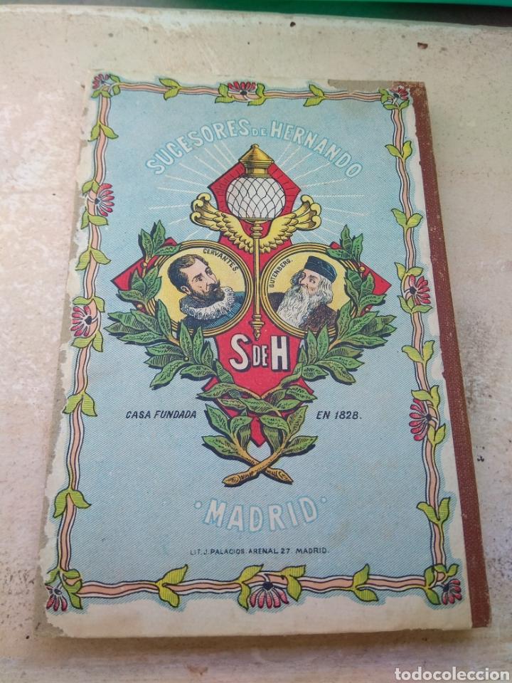 Libros antiguos: Libro El Faro de Las Niñas - D. Baldomero Mediano y Ruíz 1911 - Foto 2 - 132592185