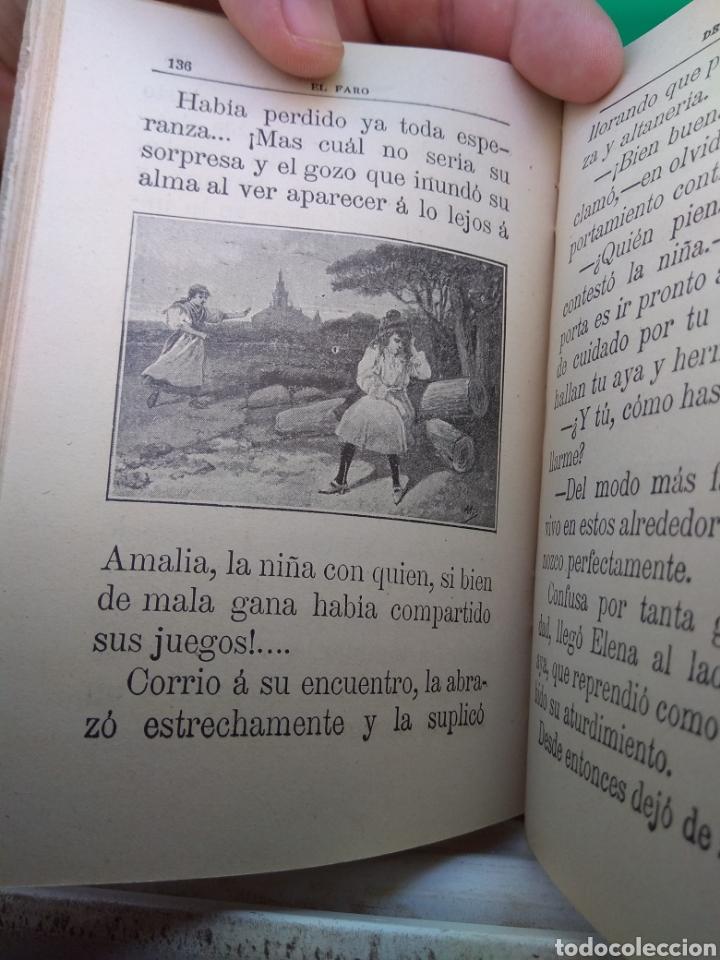 Libros antiguos: Libro El Faro de Las Niñas - D. Baldomero Mediano y Ruíz 1911 - Foto 4 - 132592185