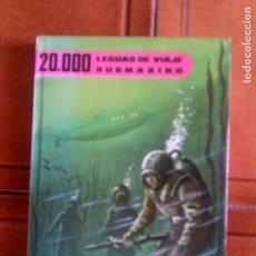 Libros antiguos: LIBRO 20,000 LEGUAS DE VIAJE SUBMARINO COLECCION FRANJA ESCARLATA AÑO 1962. Lote 132705490