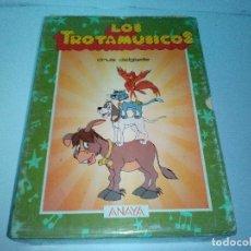 Libros antiguos: LOS TROTAMUSICOS-3 TOMOS- ANAYA-CRUZ DELGADO-. Lote 132913266