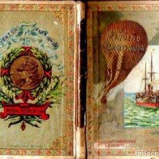 Libros antiguos: MUSEO DE LA INFANCIA - CUENTOS MORALES PEQUEÑO AERONAUTA (HIJOS DE SANTIAGO RODRÍGUEZ, BURGOS, 1902). Lote 132963014