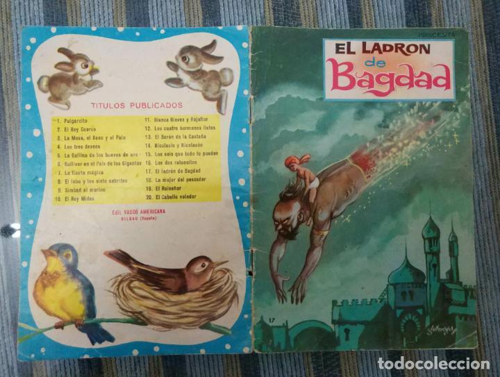 COLECCION PRINCESITA N° 17: EL LADRON DE BAGDAD (EDIT. VASCO AMERICANA 1962) (Libros Antiguos, Raros y Curiosos - Literatura Infantil y Juvenil - Cuentos)