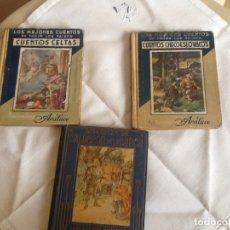 Libros antiguos: 3 LIBROS CUENTOS EDITORIAL ARALUCE. Lote 133306898