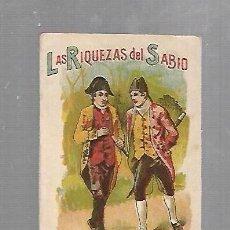 Libros antiguos: CUENTOS CALLEJA. LAS RIQUEZAS DEL SABIO. SERIE III. TOMO 45. Lote 133605974