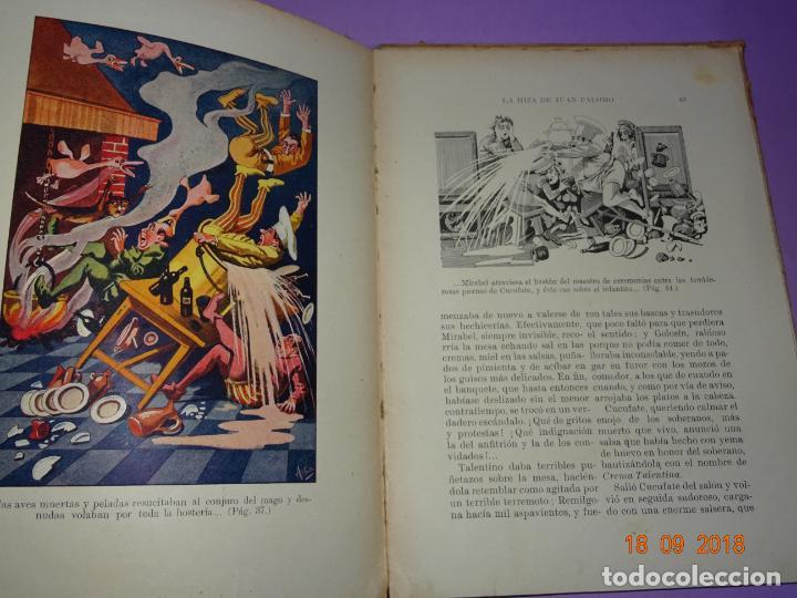 Libros antiguos: LA HIJA DE JUAN PALOMO - Editorial Ramon Sopena 1ª Edición de 1922 - BIBLIOTECA PARA NIÑOS - Foto 2 - 133684210