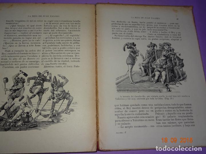 Libros antiguos: LA HIJA DE JUAN PALOMO - Editorial Ramon Sopena 1ª Edición de 1922 - BIBLIOTECA PARA NIÑOS - Foto 3 - 133684210