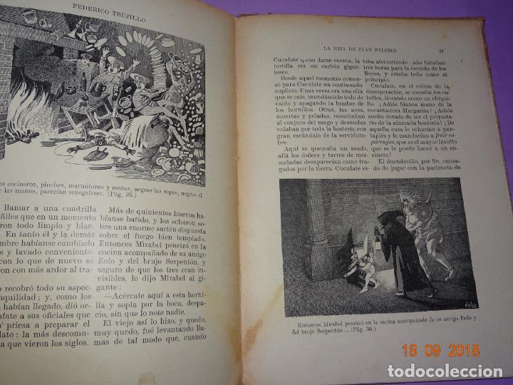 Libros antiguos: LA HIJA DE JUAN PALOMO - Editorial Ramon Sopena 1ª Edición de 1922 - BIBLIOTECA PARA NIÑOS - Foto 5 - 133684210