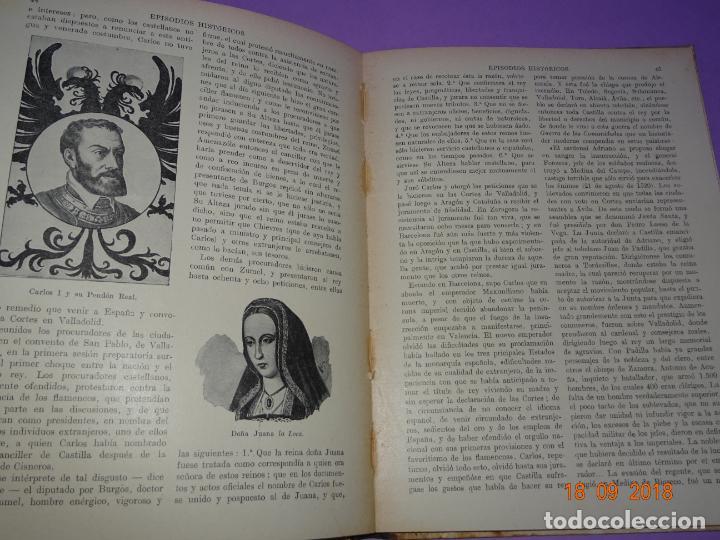 Libros antiguos: EPISODIOS HISTÓRICOS - Editorial Ramon Sopena - BIBLIOTECA PARA NIÑOS - Foto 5 - 133684666
