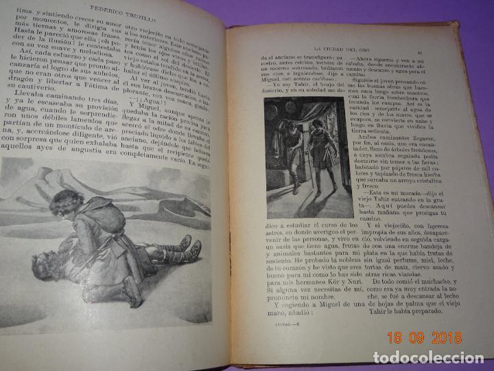 Libros antiguos: LA CIUDAD EL ORO - 1ª Edición de 1934 de Editorial Ramon Sopena - BIBLIOTECA PARA NIÑOS - Foto 5 - 133684862
