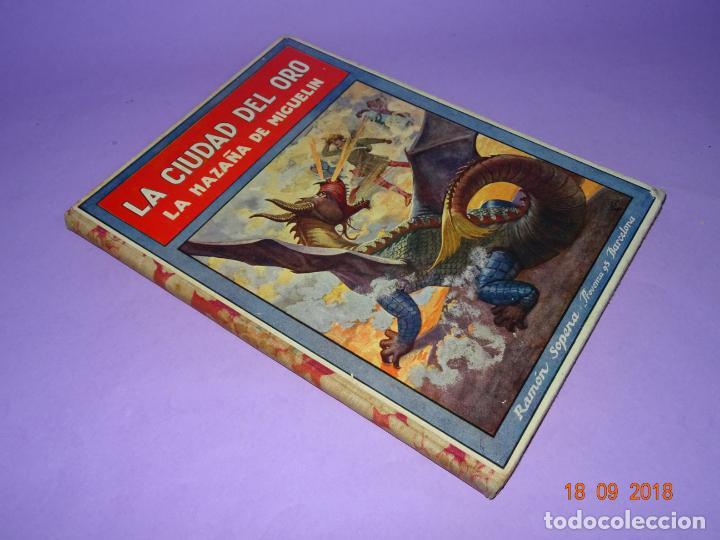 Libros antiguos: LA CIUDAD EL ORO - 1ª Edición de 1934 de Editorial Ramon Sopena - BIBLIOTECA PARA NIÑOS - Foto 6 - 133684862