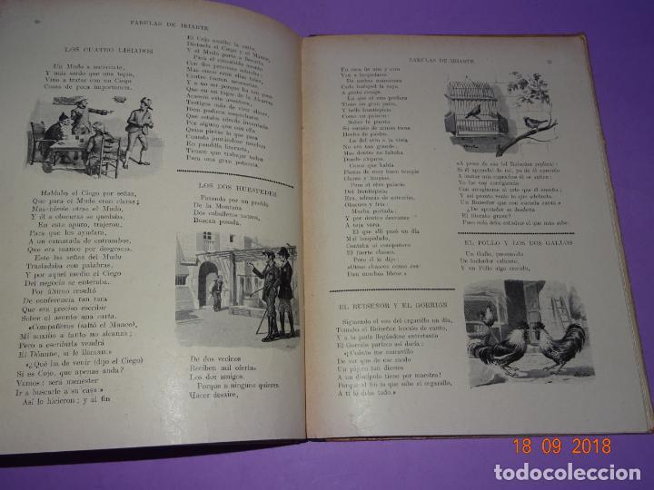 Libros antiguos: COMO VIVEN LOSFÁBULAS DE IRIARTE - 1ª Edición de 1934 Editorial Ramon Sopena BIBLIOTECA PARA NIÑOS - Foto 2 - 133684962