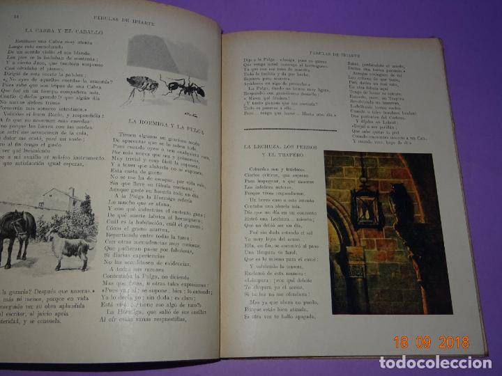 Libros antiguos: COMO VIVEN LOSFÁBULAS DE IRIARTE - 1ª Edición de 1934 Editorial Ramon Sopena BIBLIOTECA PARA NIÑOS - Foto 3 - 133684962