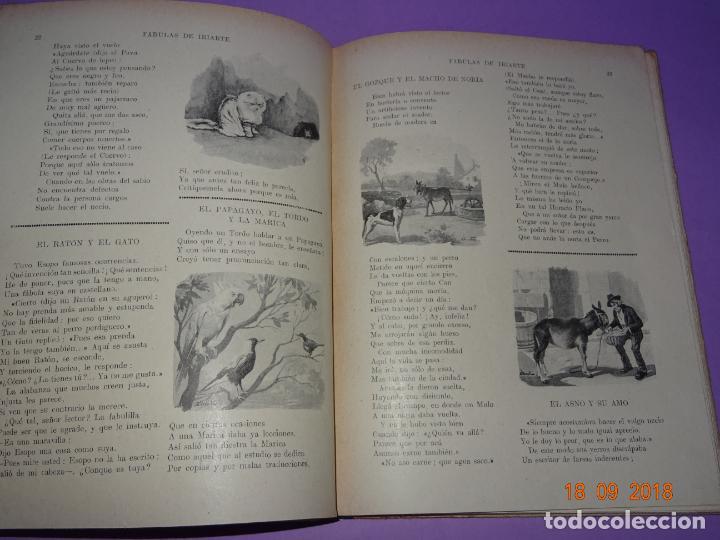 Libros antiguos: COMO VIVEN LOSFÁBULAS DE IRIARTE - 1ª Edición de 1934 Editorial Ramon Sopena BIBLIOTECA PARA NIÑOS - Foto 5 - 133684962